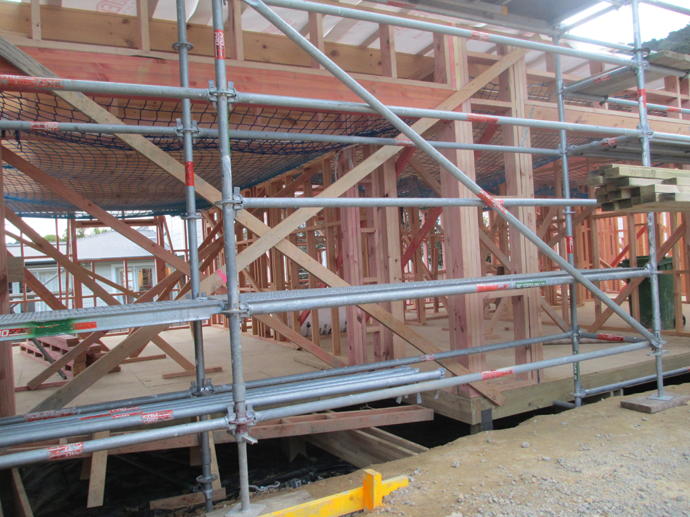 99 hobson street wellington build story september 2016 for How much do roof trusses cost